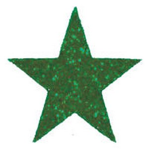 Cheer Glitter Star Sticker