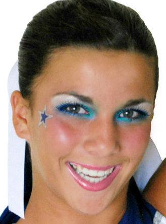 cheer makeup